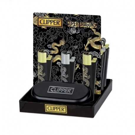 Caja Clipper Super Dragons 12 uds