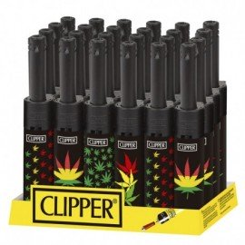 Clipper Bong Minitube Leaves 24 uds