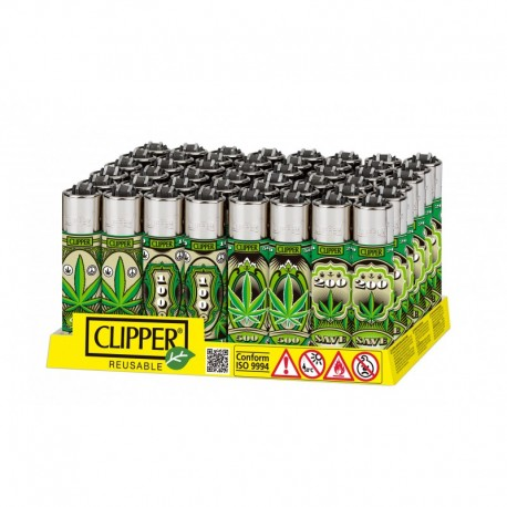 Caja Clipper Dollar Leaves 48 uds